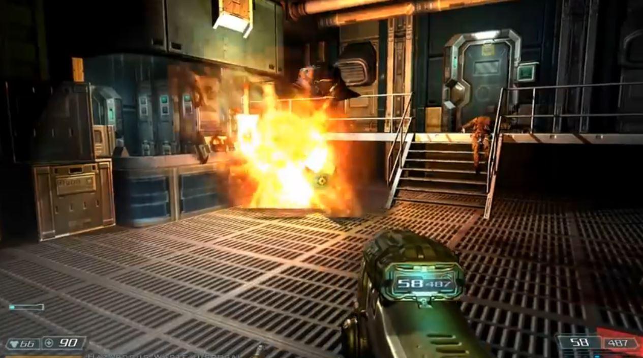 Doom 3: BFG Edition on Oculus Rift - Rift Info