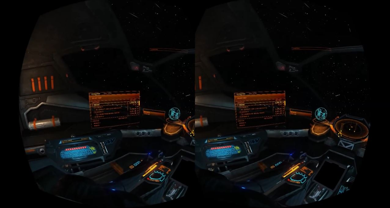 Oculus Rift resolution in Elite Dangerous