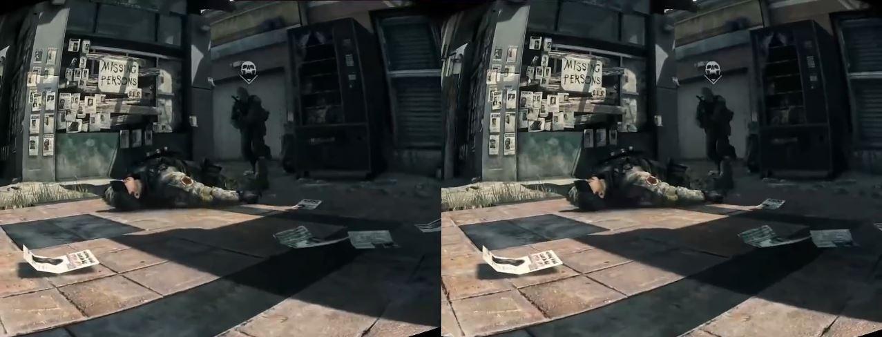 Oculus Rift + Call of Duty = Bad Idea - Rift Info