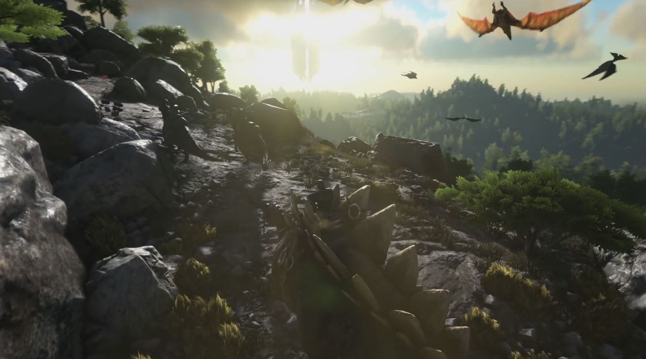 ARK: Survival Evolved Flying Mounts