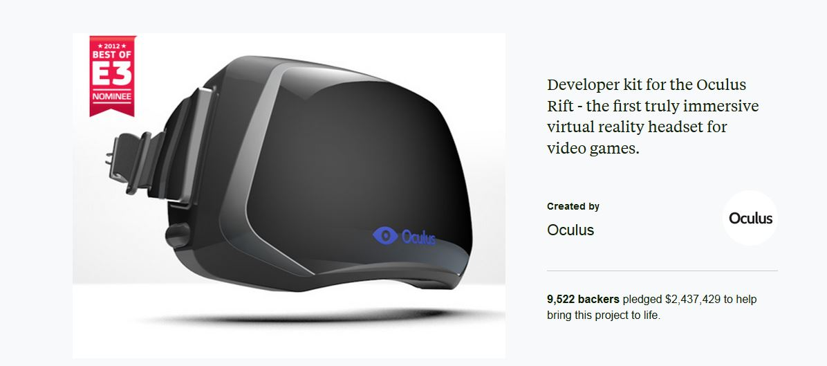 oculus rift history