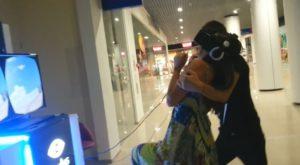 russian girl oculus rift