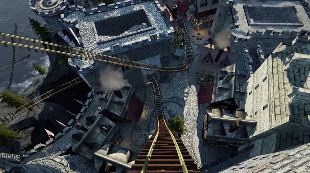 oculus rift roller coaster ue4 coaster