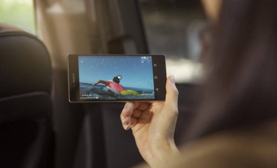 sony mobile VR device