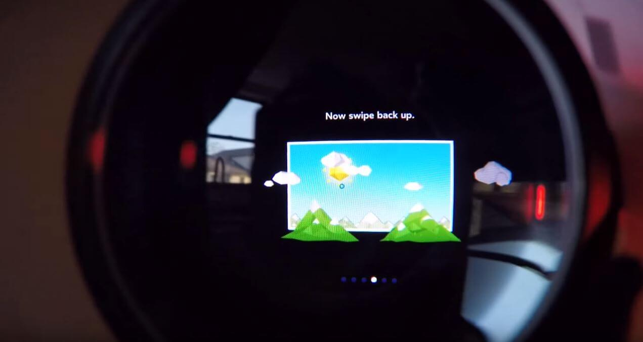 gear vr review screen