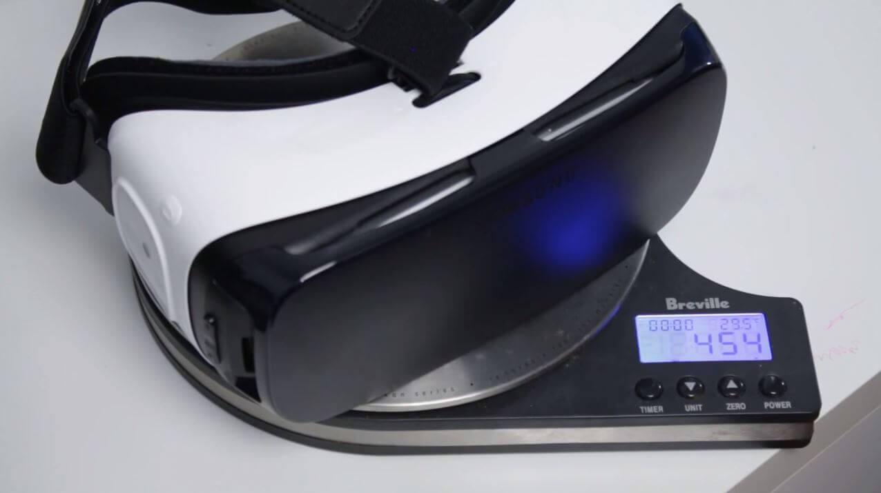 gear vr review weight