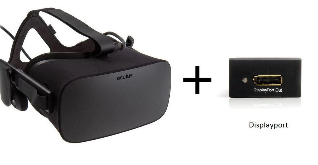 Oculus Rift displayport