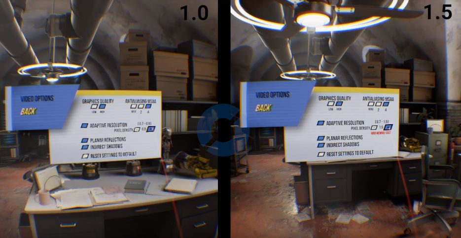 oculus rift supersampling comparison 2