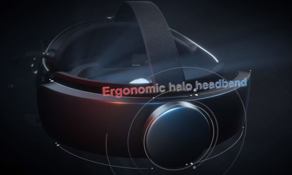Oculus Rift s halo strap