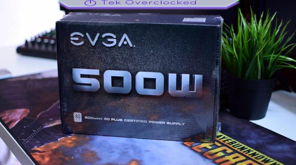 vr build bronze affordable power supply evga 500W