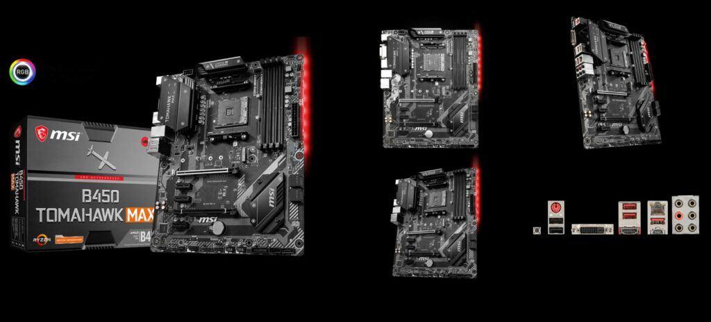 VR Build Silver Good Motherboard Tomahawk Max