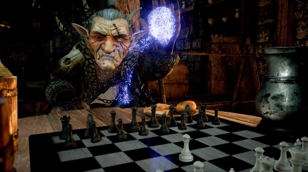 Magician's gambit - list of vr chess games