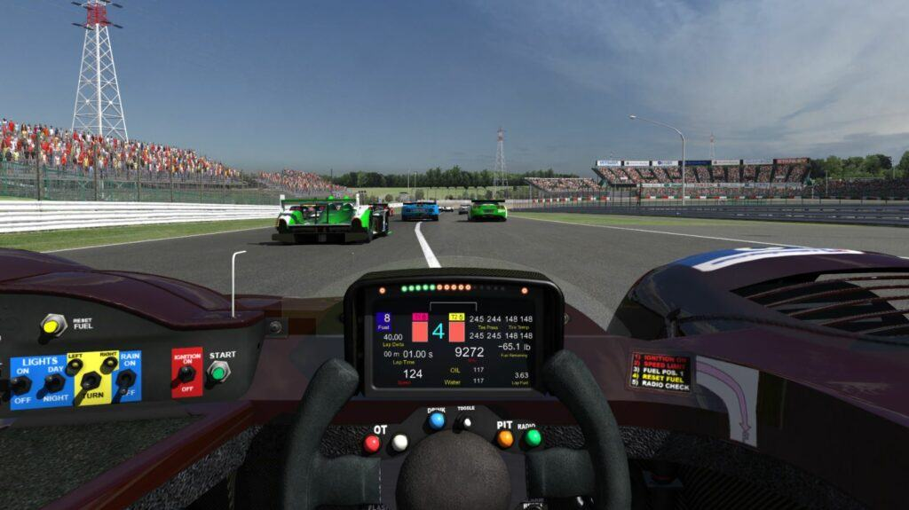 cockpit view in iracing