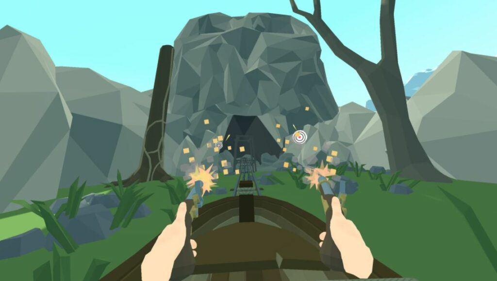 epic fun roller coaster game for oculus rift