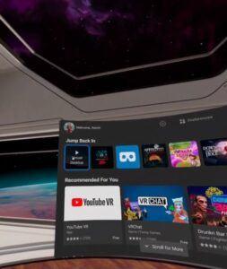 jump back into virtual desktop